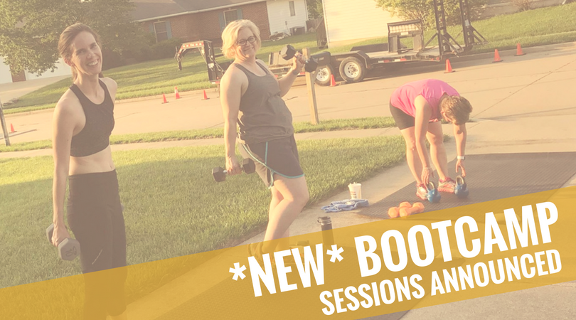 New Legacy Bootcamp sessions through Summer 2018 in Columbia, MO