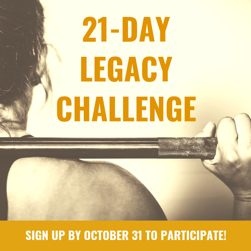 21-Day Legacy Challenge